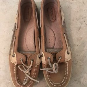 Barely worn Sperry Slip-ons!